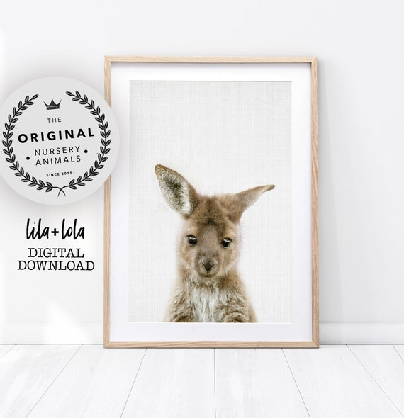 Kangaroo Print - Digital Download
