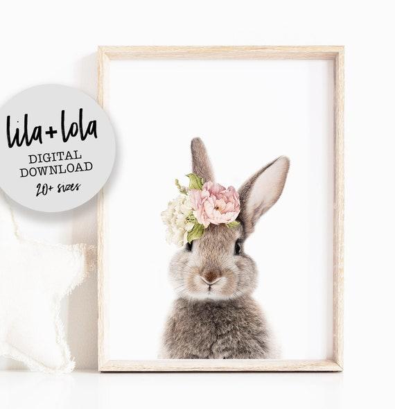 Bunny Rabbit Print - Digital Download