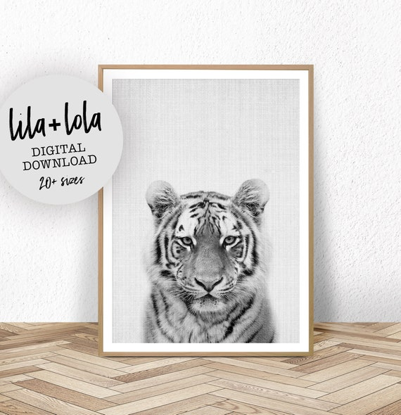 Tiger Print - Digital Download
