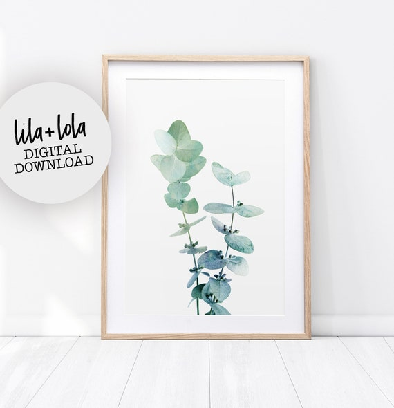 Eucalyptus Leaf Print - Digital Download