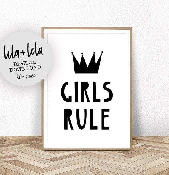 Girls Rule - Digital Download