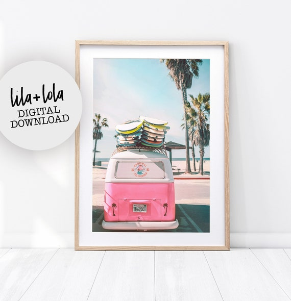 Combi Surf Print - Digital Download