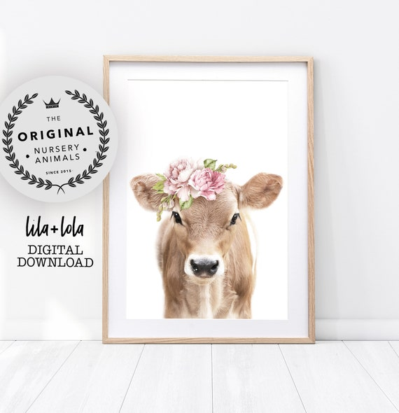 Floral Calf Print - Digital Download