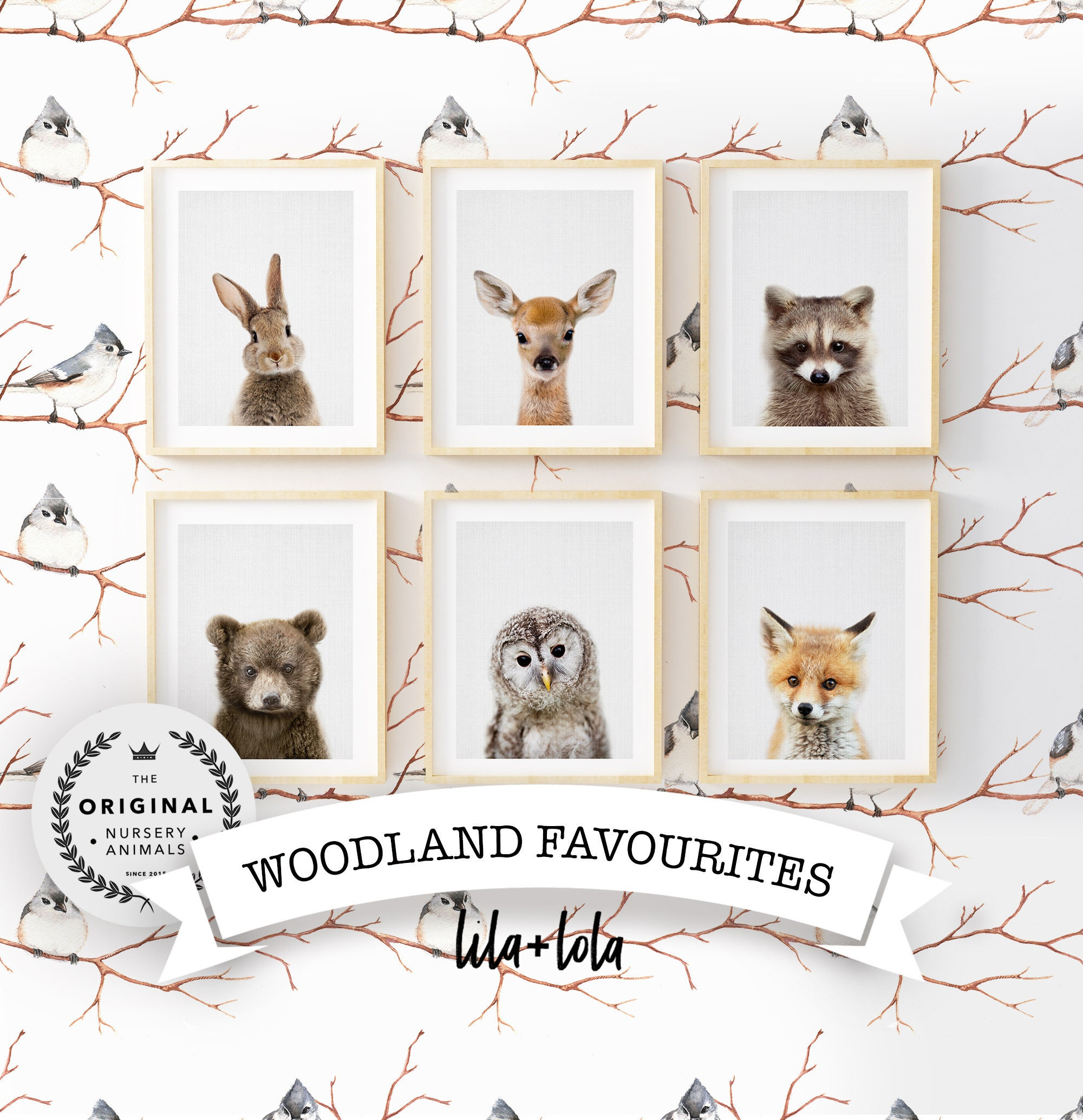 new style 0c1b3 ae111 Woodland Animal Favourites Collection - Digital Download