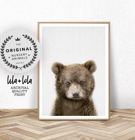 Bear Cub Print - Printed and Shipped