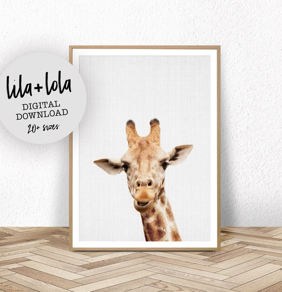 Giraffe Print - Digital Download