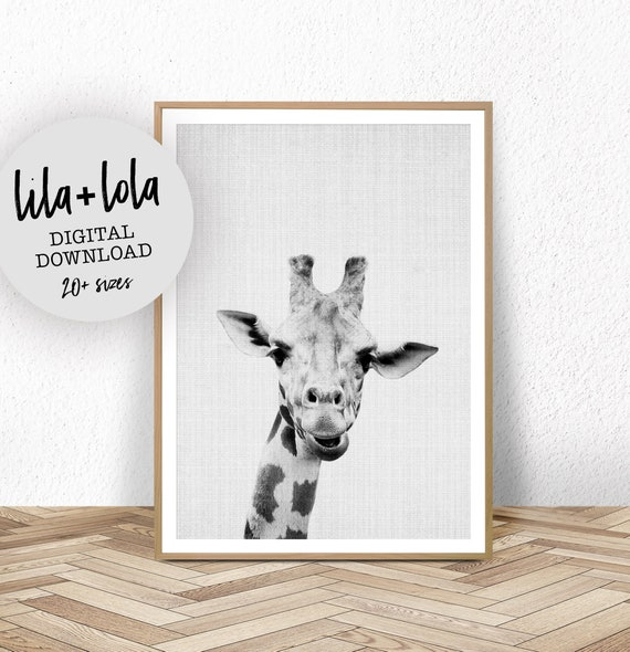 Giraffe Print - Digital Download