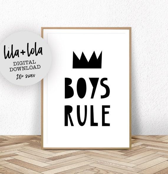 Boys Rule - Digital Download