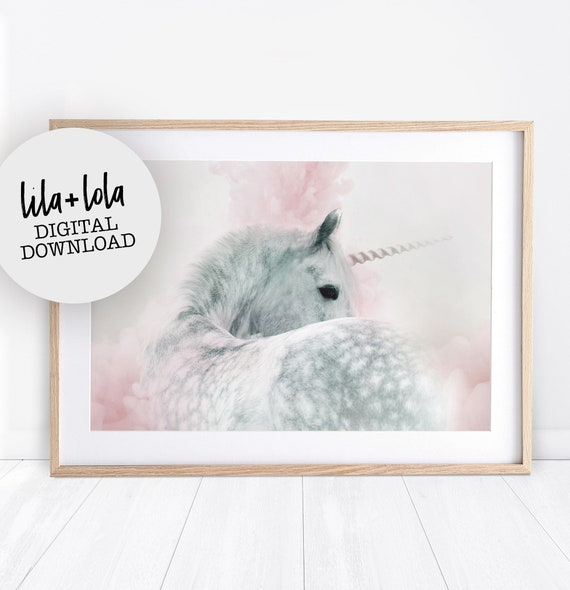 Magical Unicorn Print - Digital Download