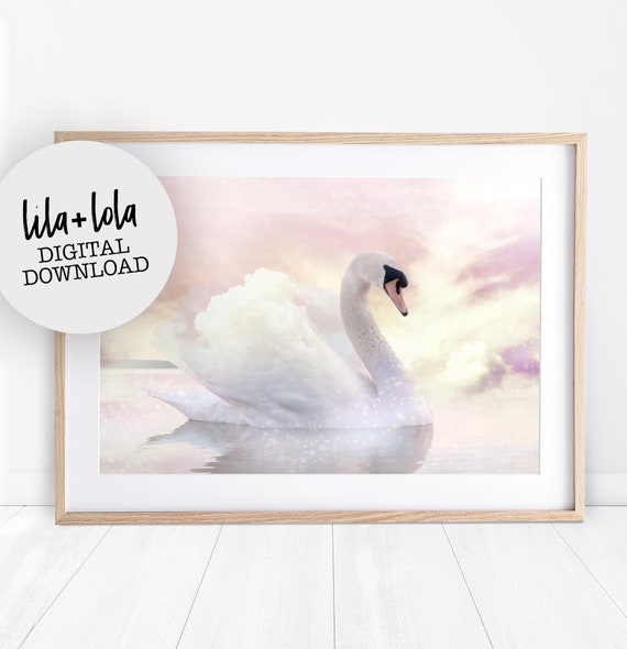 Swan Print - Digital Download