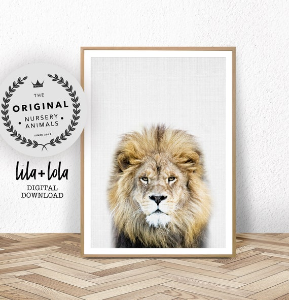 Lion Print - Digital Download