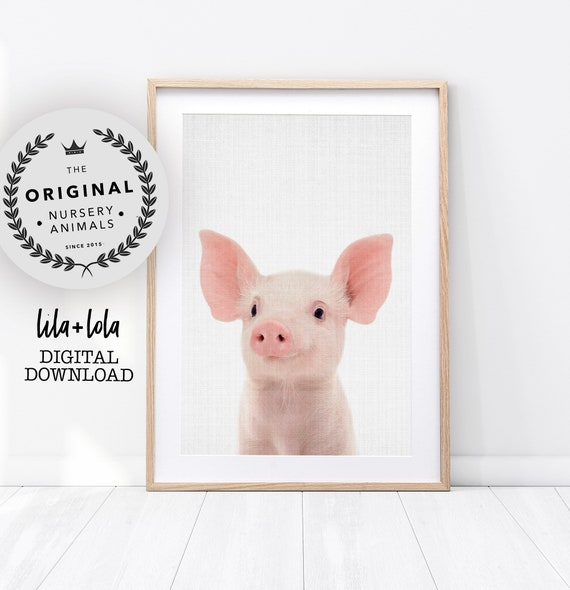 Piglet Print - Digital Download