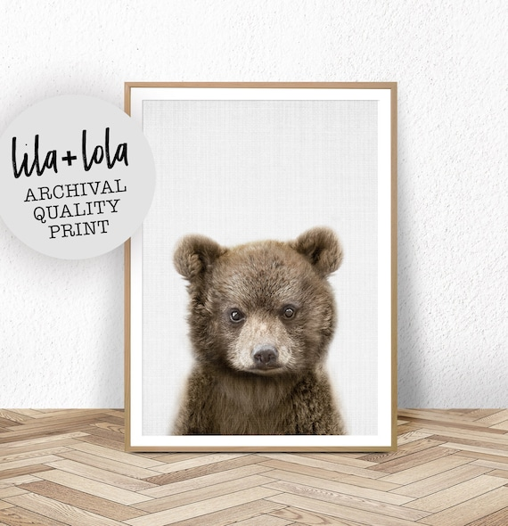 Bear Cub Print - Printed and Shipped