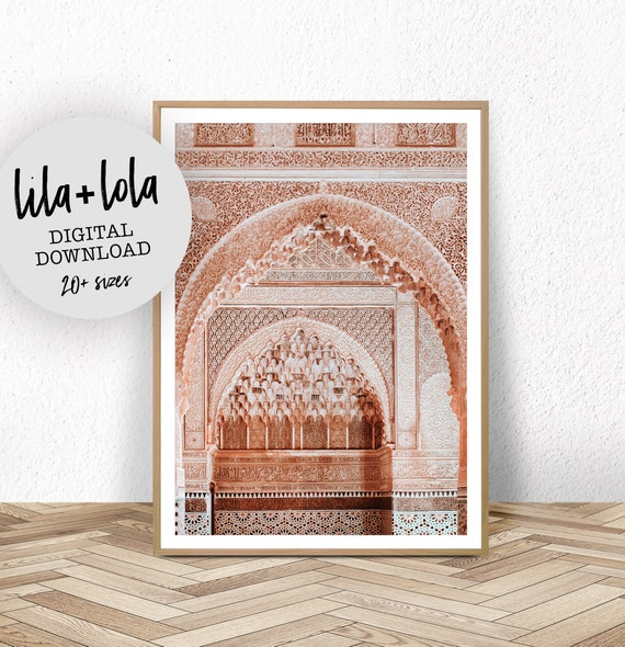 Moroccan Arches Print - Digital Download