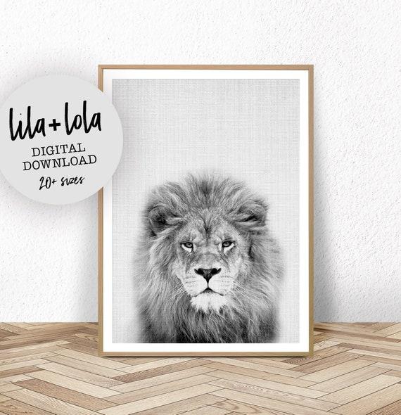 Lion Print - Digital Download