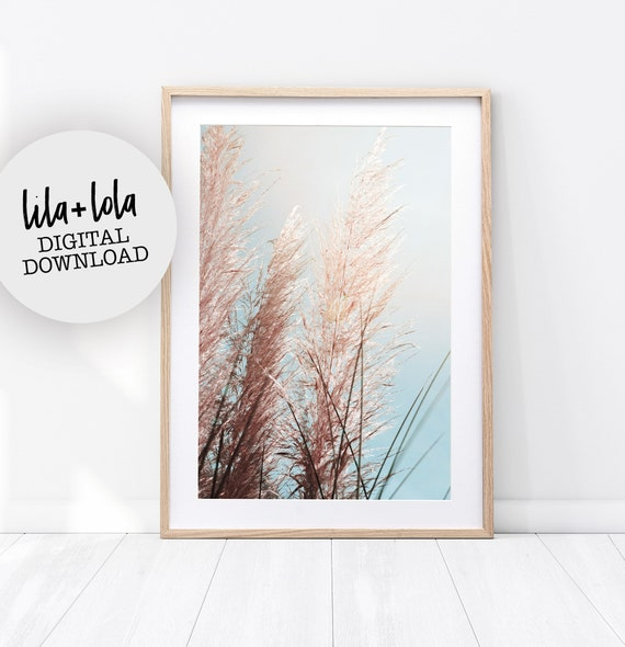 Pampas Grass Print - Digital Download