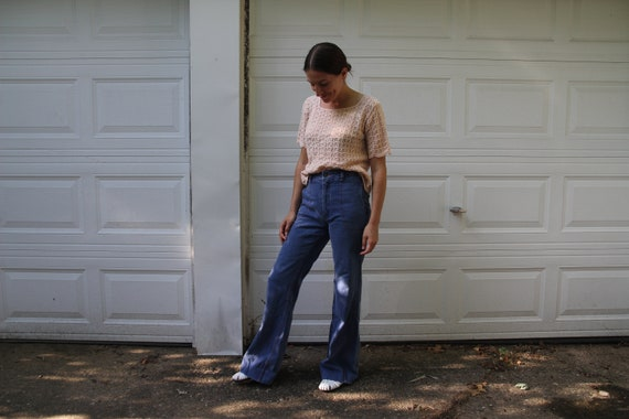 1970s Faded Glory bellbottoms! - image 9
