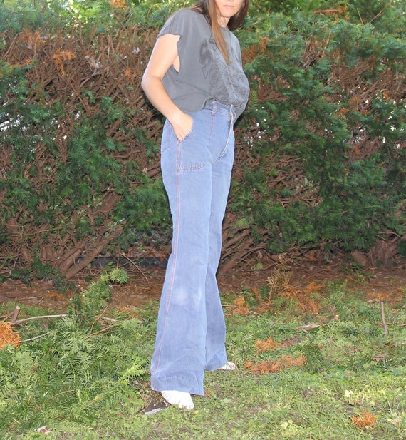 1970s Faded Glory bellbottoms! - image 4