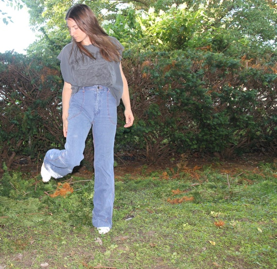 1970s Faded Glory bellbottoms! - image 3