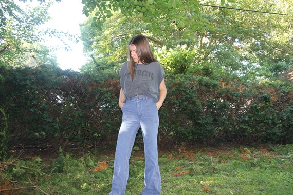 1970s Faded Glory bellbottoms! - image 5