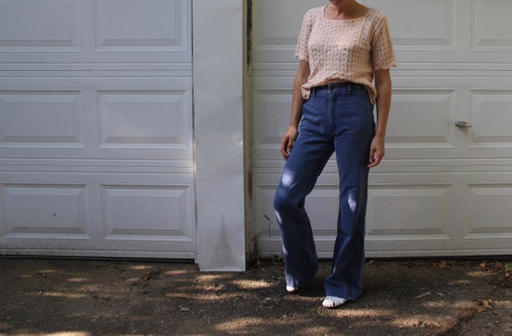 1970s Faded Glory bellbottoms! - image 8