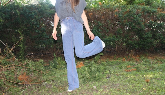 1970s Faded Glory bellbottoms! - image 7
