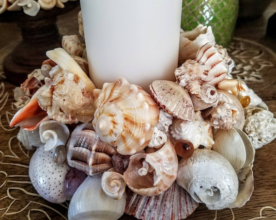 Deluxe Seashell Blossom Centerpiece 4 Tier