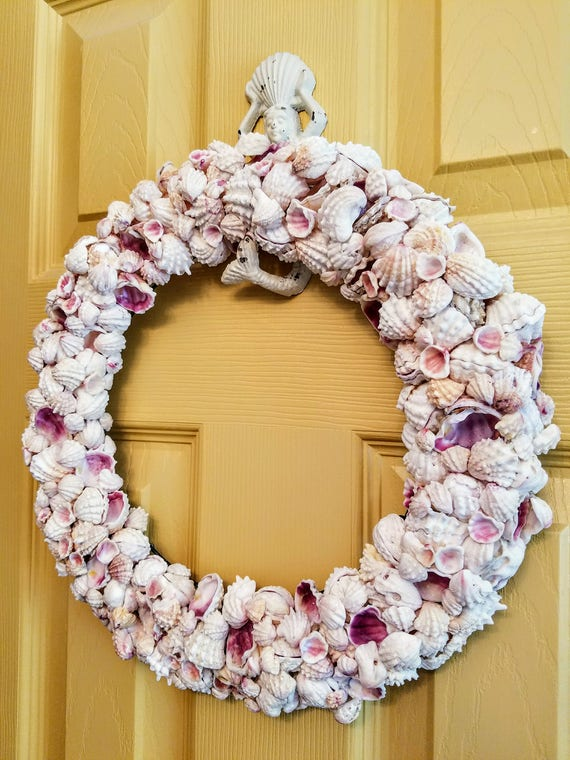 Abundant Jewel Box Seashell Wreath