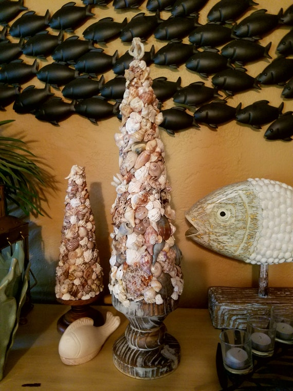 Tree of the Sea; Large, Extraordinary Seashell Topiary