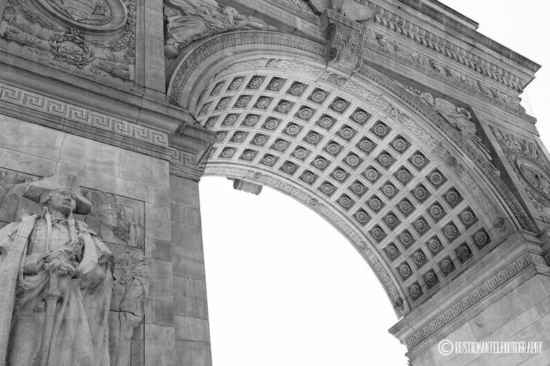 Washington Square Park Arch Print Architectural Print Photo Etsy