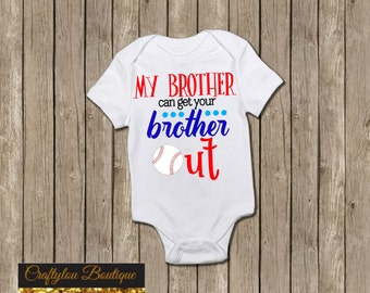 My brother can get your brother out baseball shirt