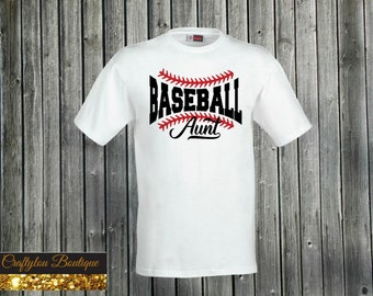 Baseball Aunt Shirt
