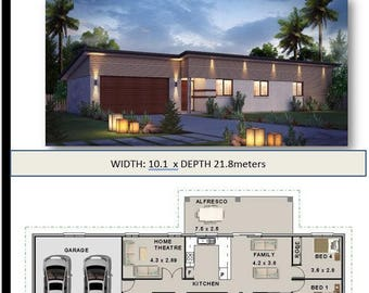 Affordable Architecture Design & Home builders brochures  House Plans 174m2 | 4 bed