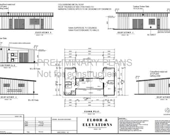 Combine blueprint etsy shipping container blueprint plans for sale 3 containers combined floor plans 840sq foot 78m2 2 bed malvernweather