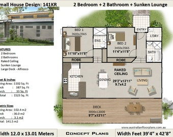 Round home house plans Living 970 sq feet or 90 m2 2 | Etsy on unique small house plans, best small house plans, best 1 story house plans, garage house plans, simple small house plans, 5 bedroom ranch house plans, european house plans, country house plans, small wooden house plans,
