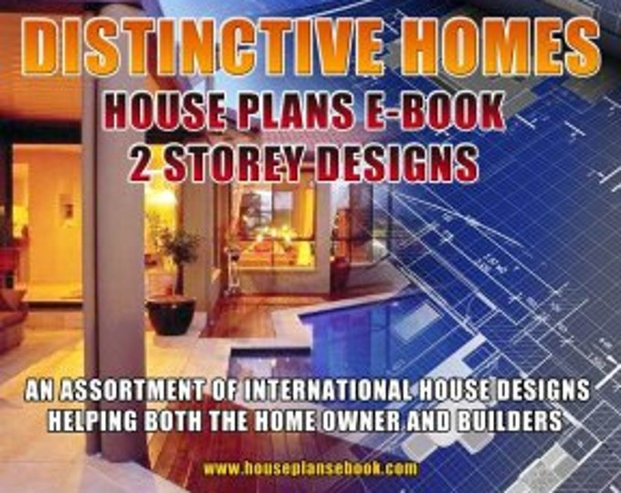 Two Storey House Plans Distinctive Homes
