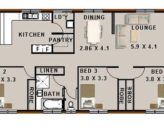 409 M2 4 Bed House Plan Narrow 2 Storey Design Narrow Lot Etsy