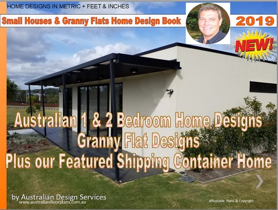 1 And 2 Bedroom House Plans Book Small Houses Granny Flats Etsy