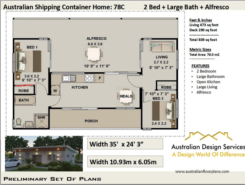 Ship Container House Plans | 3 Containers Shipping Containers | Container  Home Concept Plan | House Plans Shipping Container Homes |