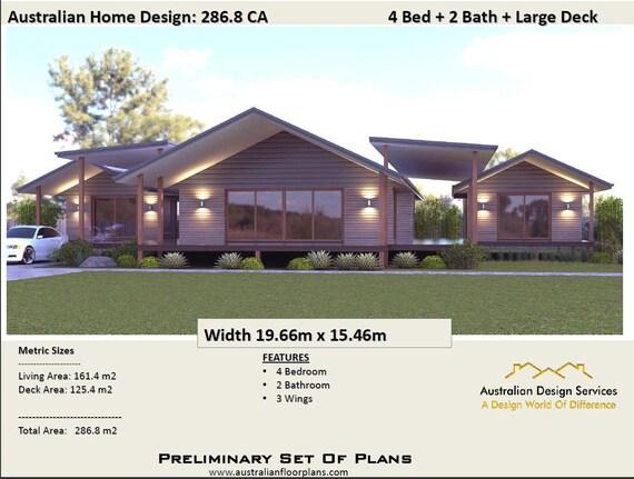 pavilion style home designs australia   Home Plan