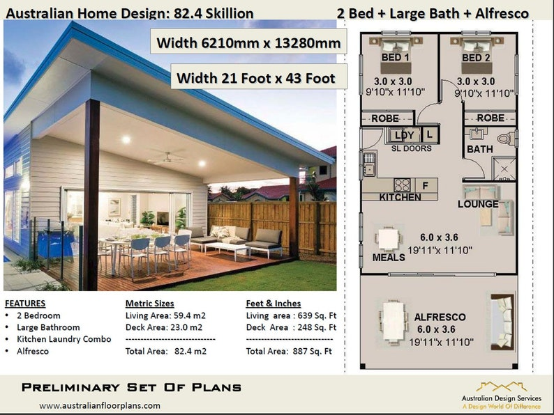 Prime 2 Bed Small Tiny Home Living Area 59 4 M2 639 Sq Foot 2 Bedroom Granny Flat Skillion Roof Design Cheap Under 1200 Sq Foot House Plan Download Free Architecture Designs Scobabritishbridgeorg