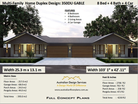 Multi Family Duplex House Plans/ 8 Bedroom Home/ modern duplex   #Multi on house layout, house designing, house schematics, house print, house paint, house desings, house style, house exterior, house rooms, house color, house blueprints, house template, house cutout, house map, house diagram, house logo, house drawing, house types, house interiors, house plans,