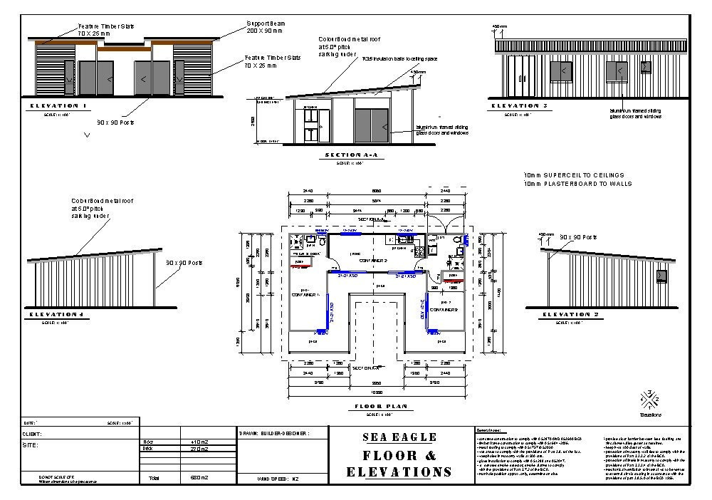 2 bed shipping container home 680 m2 or 731 sq ft full house 2 bed shipping container home 680 m2 or 731 sq ft full house plans blueprints malvernweather Choice Image