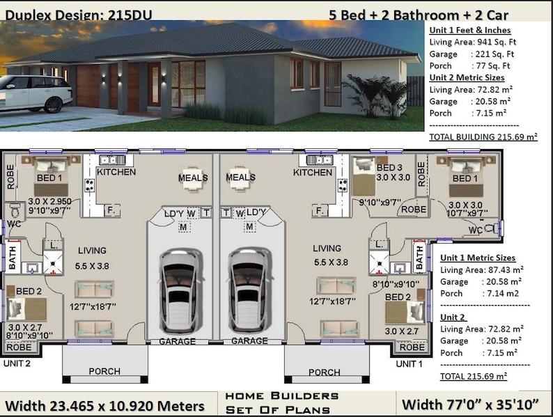 Superb Duplex House Plans 5 Bedroom Duplex Design 3 X 2 Bedrooms Duplex Design Modern Duplex Plan Australian Duplx Concept Floor Plans Sale Beutiful Home Inspiration Xortanetmahrainfo