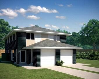 297 m2 | 6 Bed narrow lot Townhouse design | narrow 6 Bedroom Townhouse design | 6 Bedroom duplex narrow  | narrow | narrow  townhouse plans