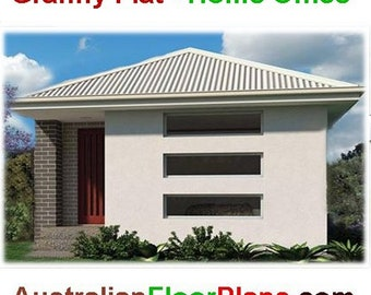 47 Flat 47 m2 |  1 Bedroom home design - Concept House Plans For Sale