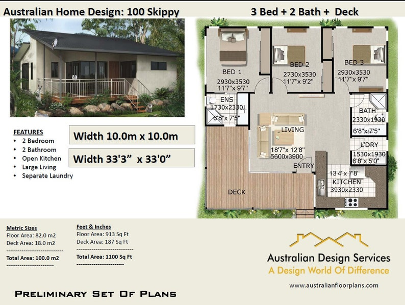 Tremendous Small And Tiny Homes 3 Bed House Plan Country Style 1100 Sq Foot 100 Sq Meters 3 Bed Home On Stumps Concept House Plans Sale Download Free Architecture Designs Itiscsunscenecom