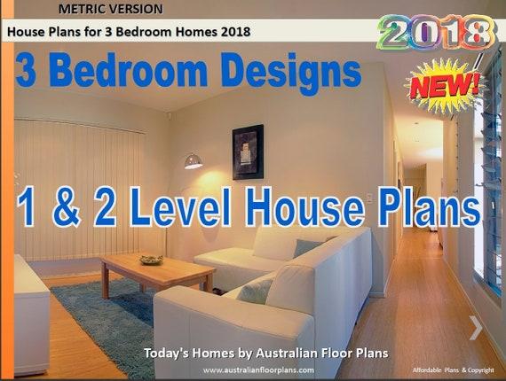 house plan book Australian 3 Bedroom house plans Book - Small house plans,  large house plans - 1 Level house plans, 2 level house plans