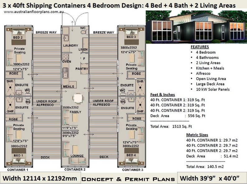 Astounding Shipping Container House Plans House Plans Container Home Best Selling 4 Bedroom Container Home Complete Home Design Collection Papxelindsey Bellcom