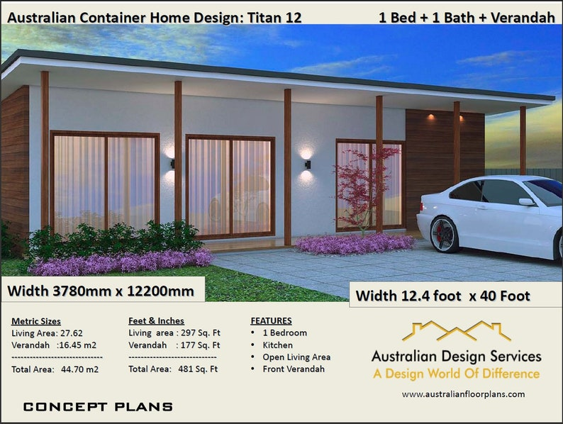 Crazy Sale Price Last Day !   Shipping Container Home   Container Home    Container Home Plans  481 Sq  Foot or 45 m2   Concept Plans Sale